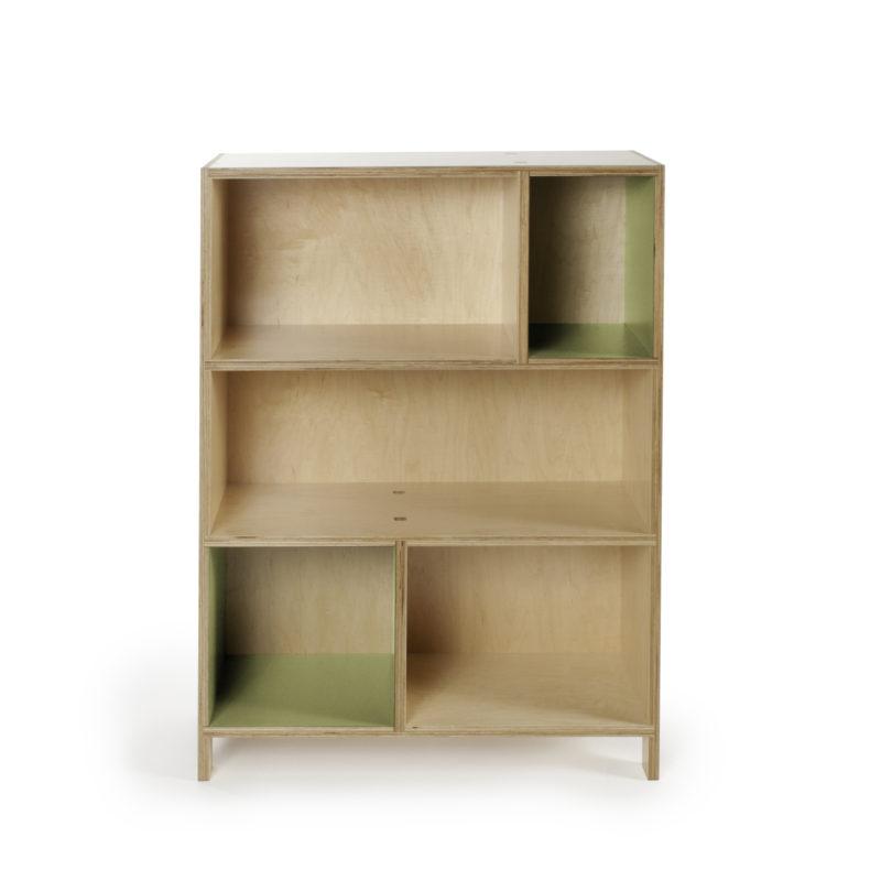 bookcase verde